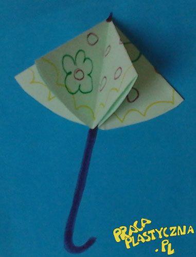 Papierowy parasol
