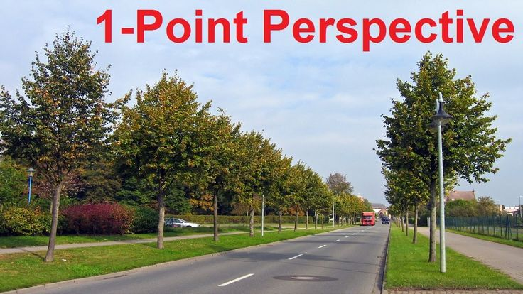 Linear Perspective Drawing Lesson 3/6 - One Point Perspective Definition...