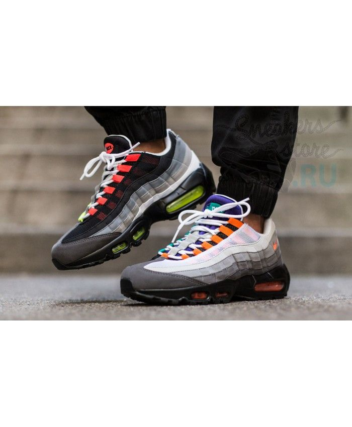 online retailer b7649 36f84 Nike Air Max 95 Og Greedy Wolf Grey Trainers