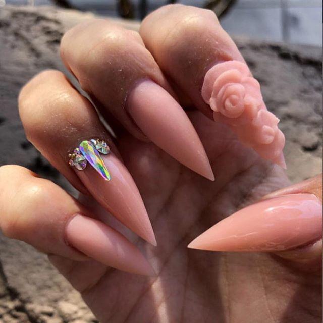 Best Nails Las Vegas All Acrylic No Gel Fun Nails Nails Gel