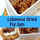 The jam is made of sun dried figs, that are available year round, sesame seeds, walnuts, pine nuts, anise seeds, mastic gum and sugar syrup.  The end result is an utterly delicious jam.  Really this is much better than the store-bought variety.  Once you try it, you will never be satisfied with the commercial fig jam.