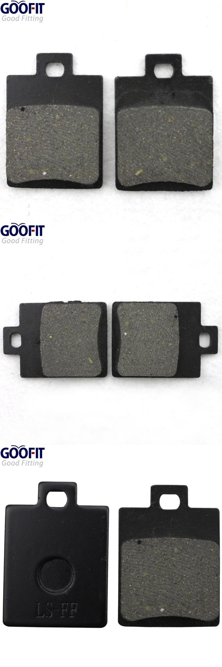 [Visit to Buy] GOOFIT ATV Rear Disc Brake Pad Pads 50cc 70cc 90cc 110cc 125cc Dirt Bike Go Kart  C029-044 #Advertisement