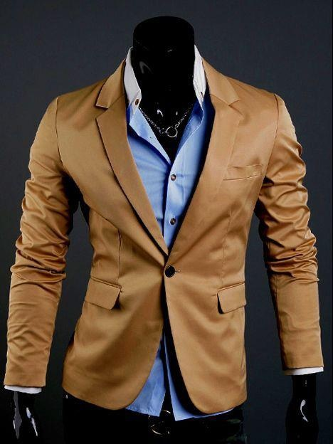 Blue and Tan......Smart and Casual