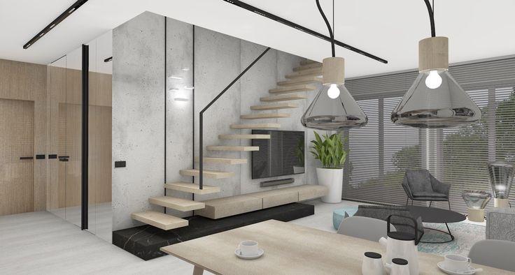 Projekt mieszkania w apartamencie Gołębia 33, Bydgoszcz. Bydgoski Deweloper: Moderator Inwestycje  Projekt: Interno, Iza Gajewska