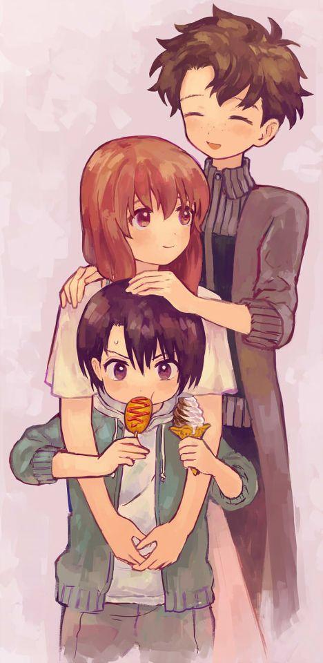 Yuzuru, Sahara y Shouko // Koe no Katachi