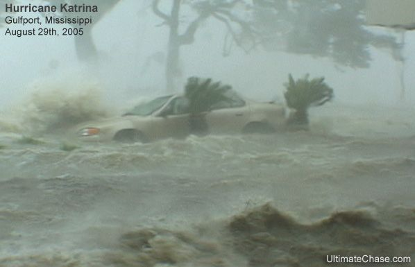 Hurricane Katrina makes landfall on the Mississippi Coast - August 29th, 2005. The single most devastating event in my American history....and some of those people are still not whole.