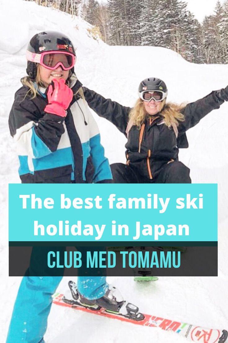 The Best Family Ski Holiday In Japan Club Med Tomamu Mumpack Travel In 2020 Family Ski Holidays Ski Family Ski Holidays