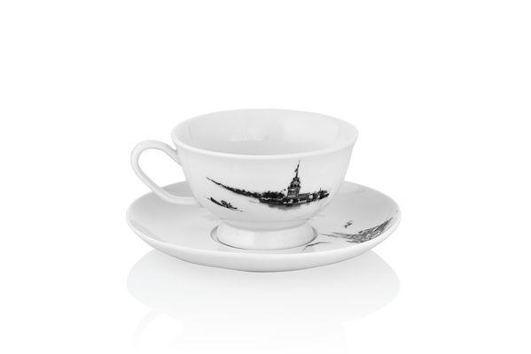 Pierre Cardin 6 lı Kahve Fincanı İstanbul Gri   cazip geldi
