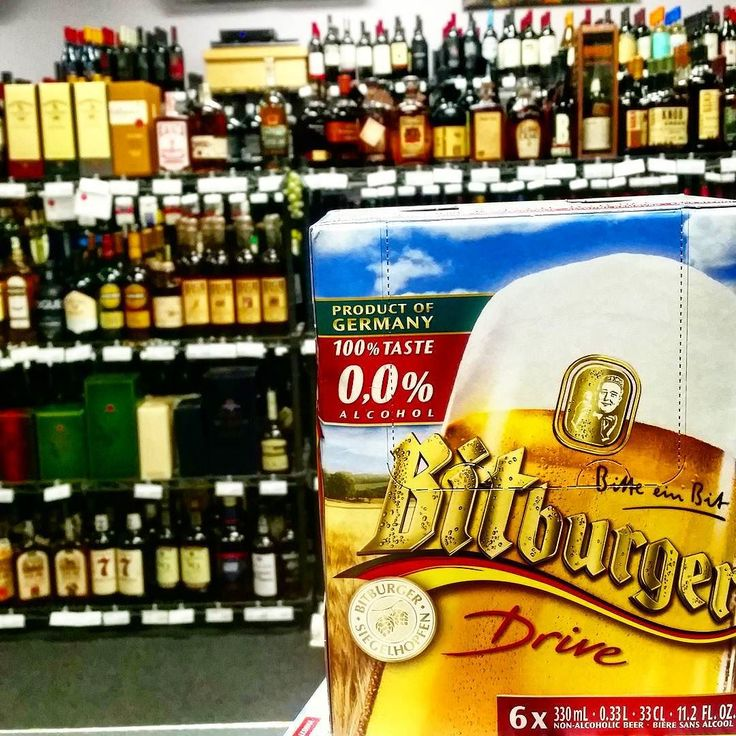 Heading out but have to be the responsible one in the group and make sure everyone else gets home? #Bitburger Drive is one of if not the ONLY 100% alcohol free beers. #nonalcoholicbeer #nonalcoholic