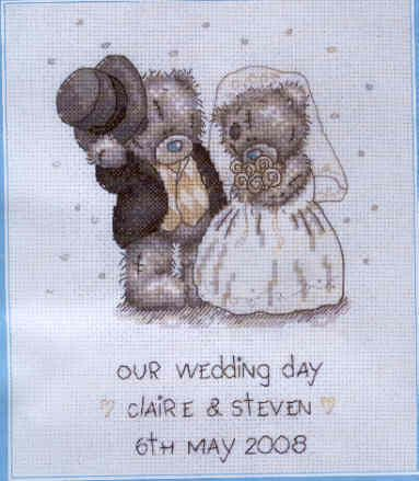 free wedding cross stitch patterns | Cross Stitch Samplers