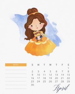 Formal calendar, April 2017