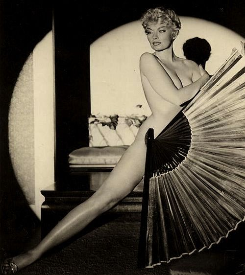 BurlesQue ~ Lili St. Cyr , 50s  She was put on trial for being too sexy, in 1951, but didn't care.