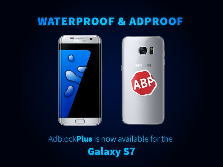 Check out THE FIRST ad blocker available for Samsung 7 phone! (Android 6.0 Marshmallow) You can find more details in our blog: https://adblockplus.org/blog/adblock-plus-is-the-first-ad-blocker-available-for-that-new-samsung-s7-phone-featuring-marshmallow-os  For download: https://play.google.com/store/apps/details?id=org.adblockplus.adblockplussbrowser&hl=en