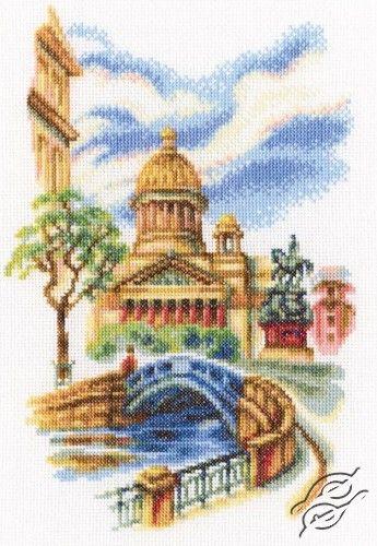 Bridges of St. Petersburg - Cross Stitch Kits by RTO - M539