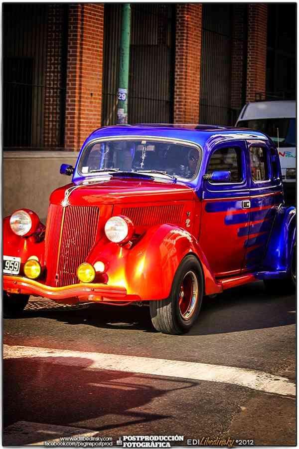 Autos Antiguos San Telmo 2012  Had a 1940 custom beauty like this one