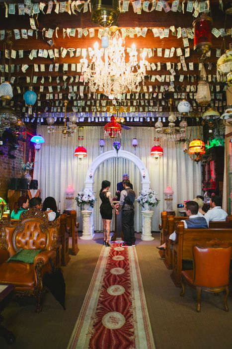 Inside The French Quarter Wedding Chapel