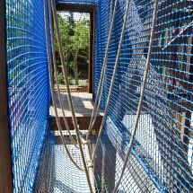 Atelier pont tibetain dans l'Acro'Brik Haut