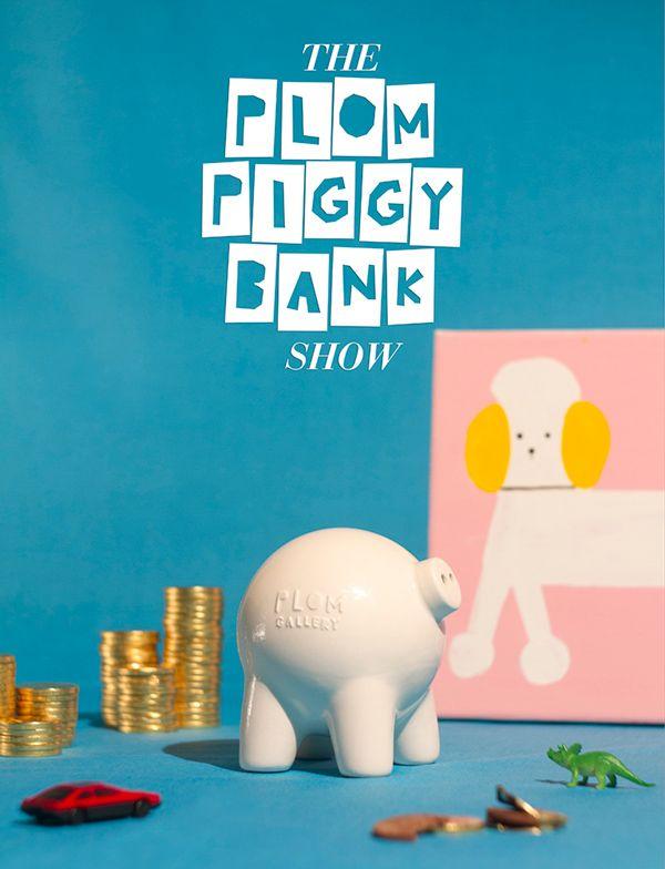 Plom Piggy Bank by Manuel Lemus