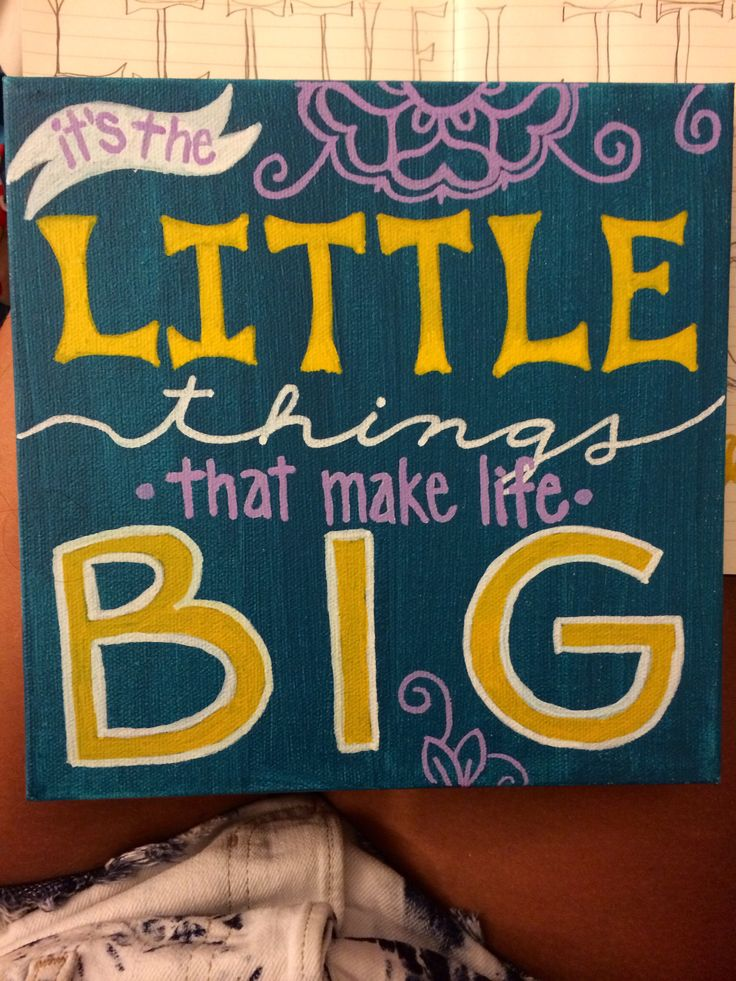 big little craft ideas 25 best big quotes on big 3449