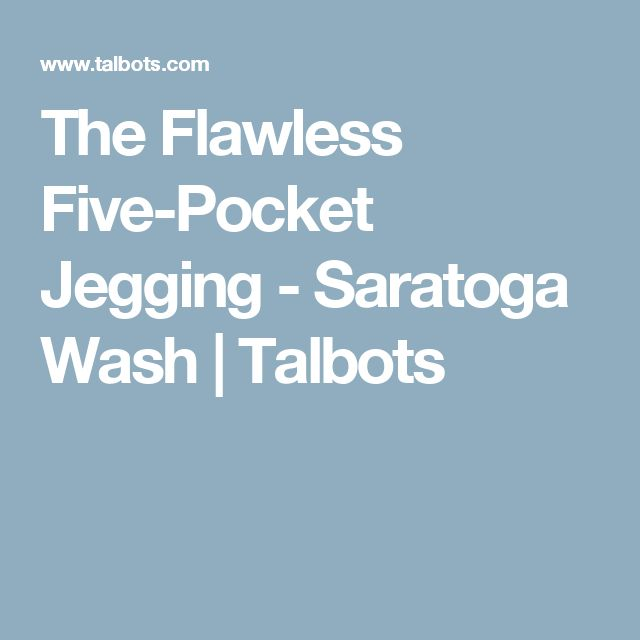 1a99cebec6500 The Flawless Five-Pocket Jegging - Saratoga Wash | Talbots | Clothes |  Pinterest | Talbots, Modern classic and Clothes