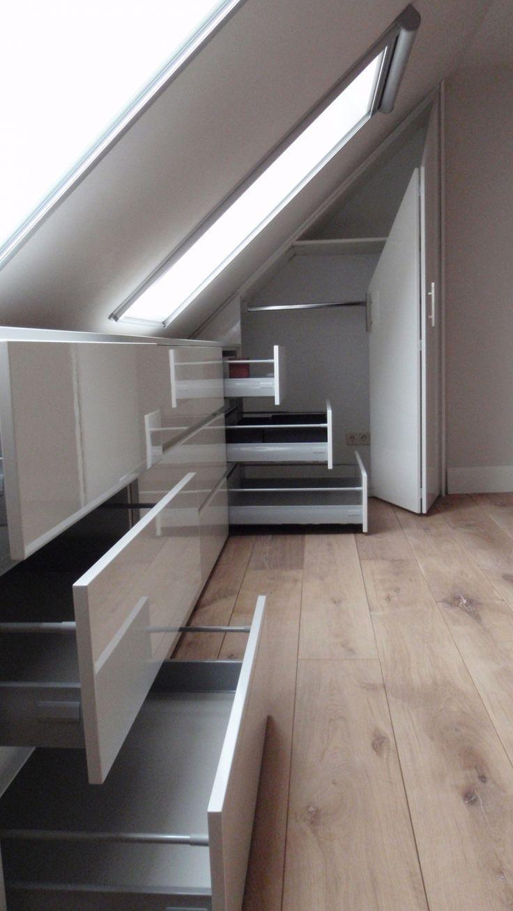 41 Enchanting Master Bedroom Storage Ideas Attic Bedroom Storage Attic Rooms Small Attics