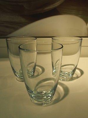 6x IKEA Saftgläser Wassergläser Trinkgläser Glas Trinkglas Wasserglas Saftglas