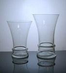Short Trumpet Glass Vase by DFW Glass Vase Wholesale