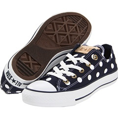 OMG. Polka-dot Converse sneakers!