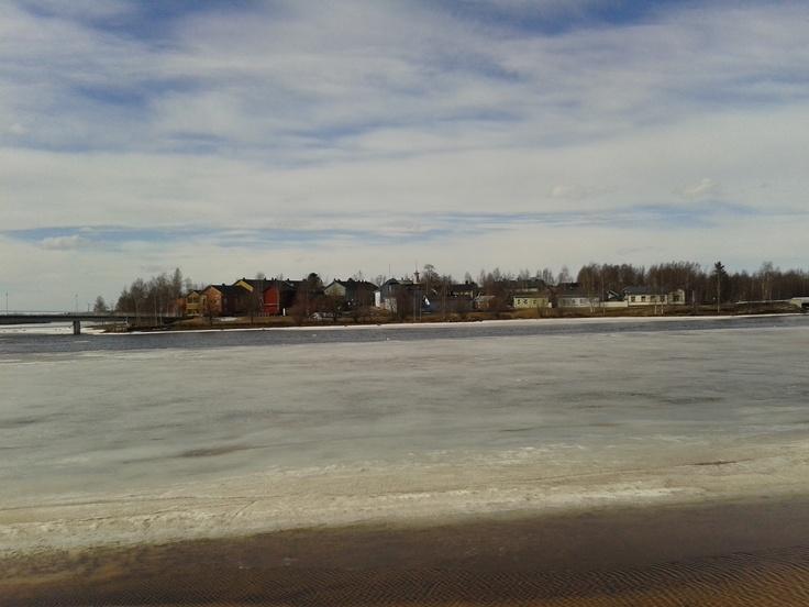 Some island in Oulu.