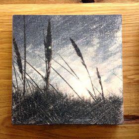 Lavendelöl, Lavendeldruck, Lavendeldruck auf Holz, Holz bedrucken, Druck auf Holz, Bilder auf Holz. Holzbilder