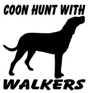coon hunting my hubbies would say Black and Tans