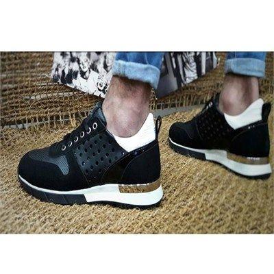 Erkek Günlük Spor Ayakkabı Siyah
