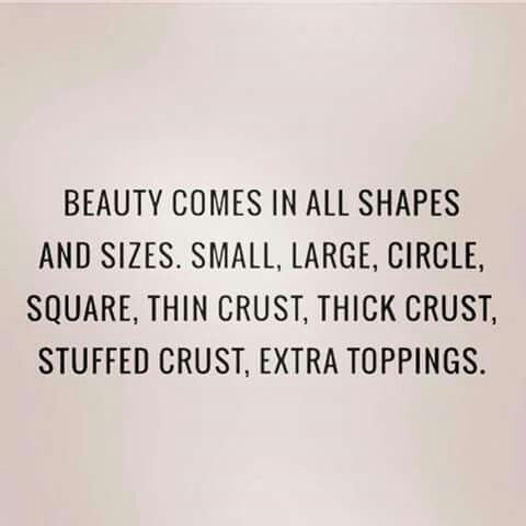 Beauty comes in all sizes.