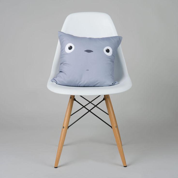 Good Morning Totoro Pillow Cover   dotandbo.com  #DotandBoSummer