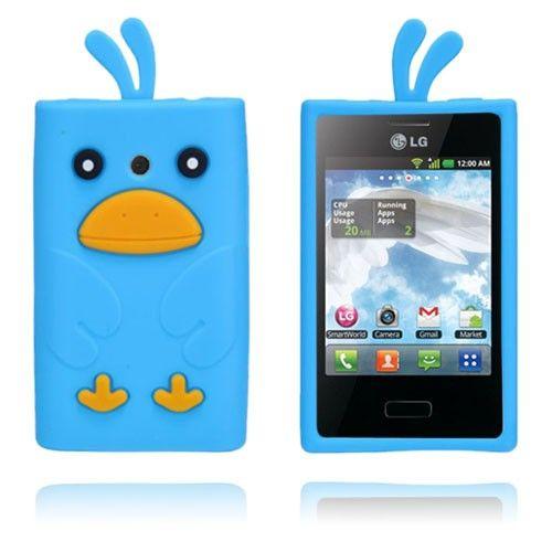 Duck (Blue) LG Optimus L3 Cover