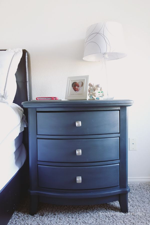 Night stand refinishing with Annie Sloan Paint