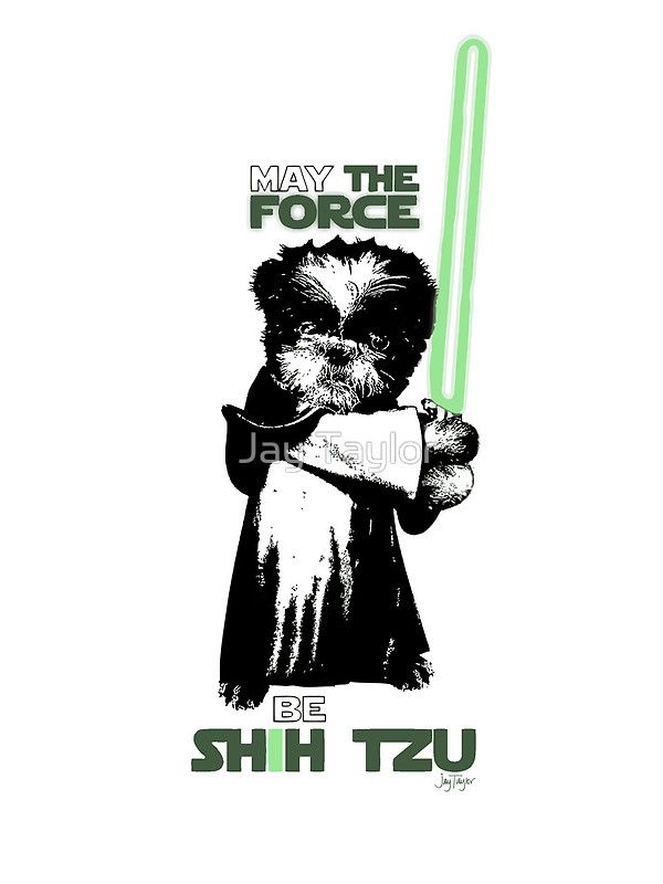 May the Force Be Shih Tzu by Jay Taylor