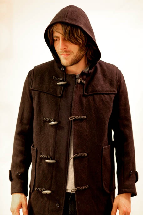 Navy woolen Duffle Coat from Shappere. Duffle Coat will cost $150.00. A wide range of Vintage jackets for men is Available for men at http://www.shappere.com.au/men/vintage-jacket
