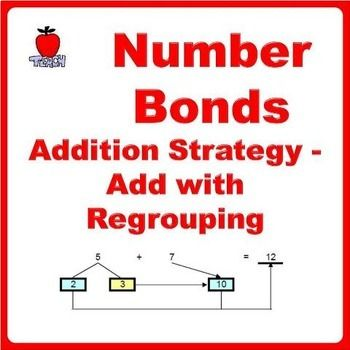 Topic: Addition with Regrouping using Number Bonds Concept. Learn to add with regrouping problems using number bonds concept. It covers two addition strategies: 1) Near-10 2) Near-100 Master these two methods of addition helps to improve mental calculation.