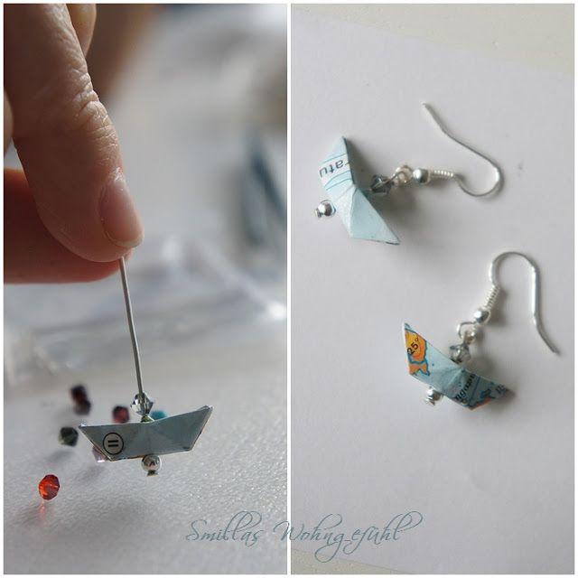 Smillas Wohngefühl: [DIY]: Fernweh für Ohren und Fenster....