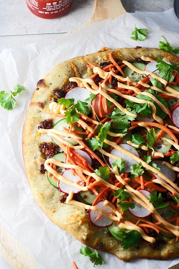 Bahn Mi Pizza | cookingforkeeps.com