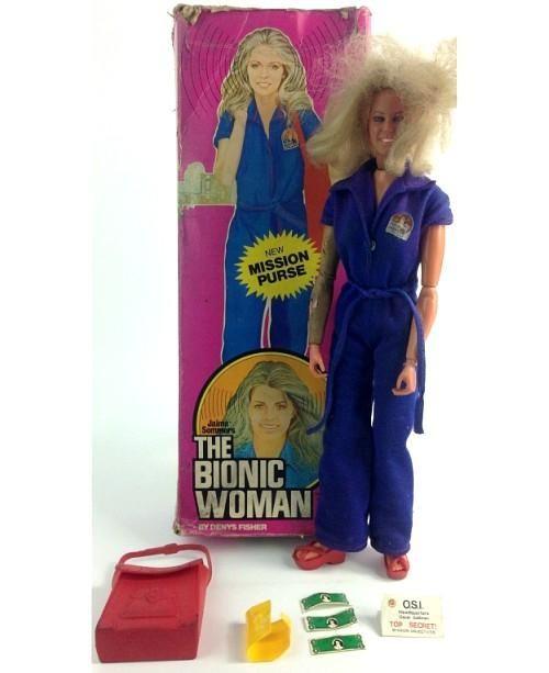 The Bionic Woman doll