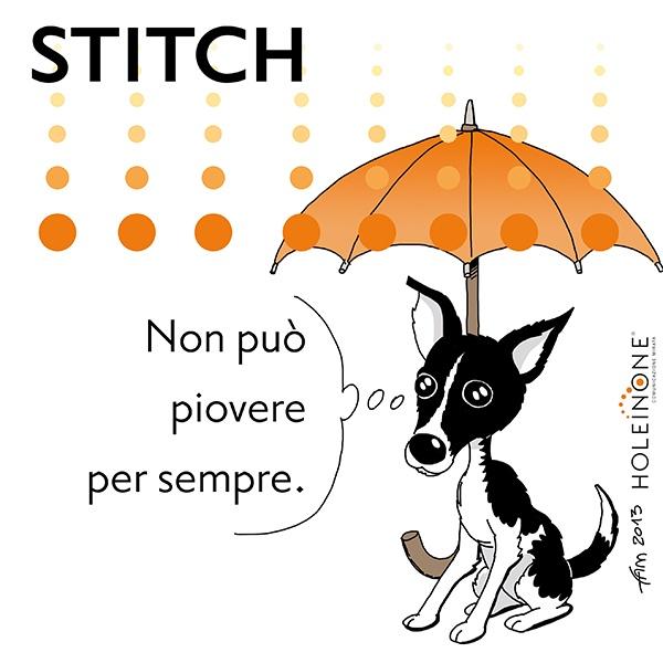 Stitch e la pioggia