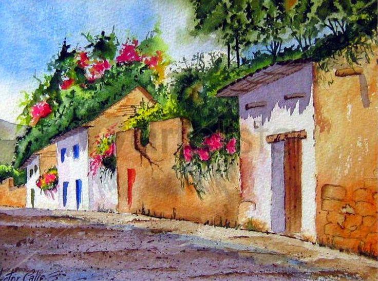 galeria-de-cuadros-de-paisajes-de-pintores-colombianos.jpg (1024×762)