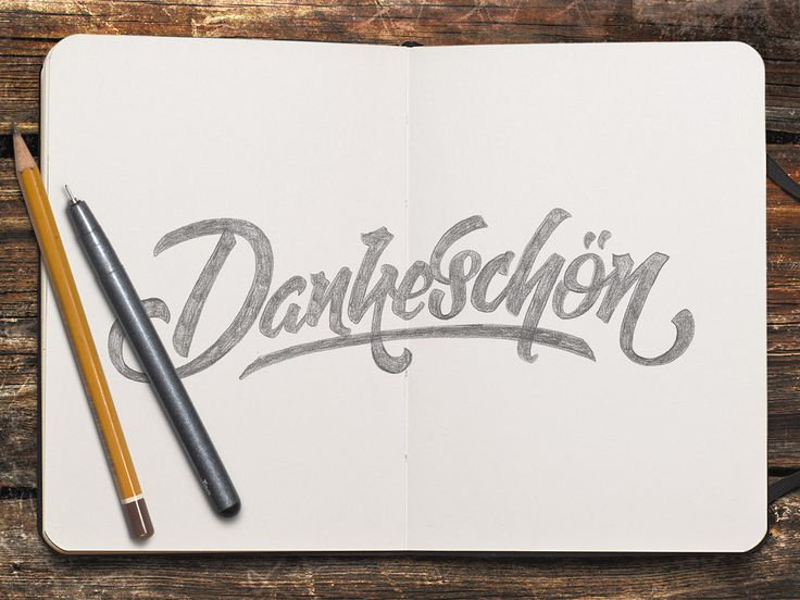 Hand-lettering sketch Level10.