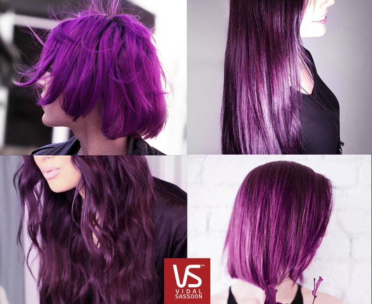 Vidal Sassoon London Lilac: No one forgets the girl with the bold purple hair.