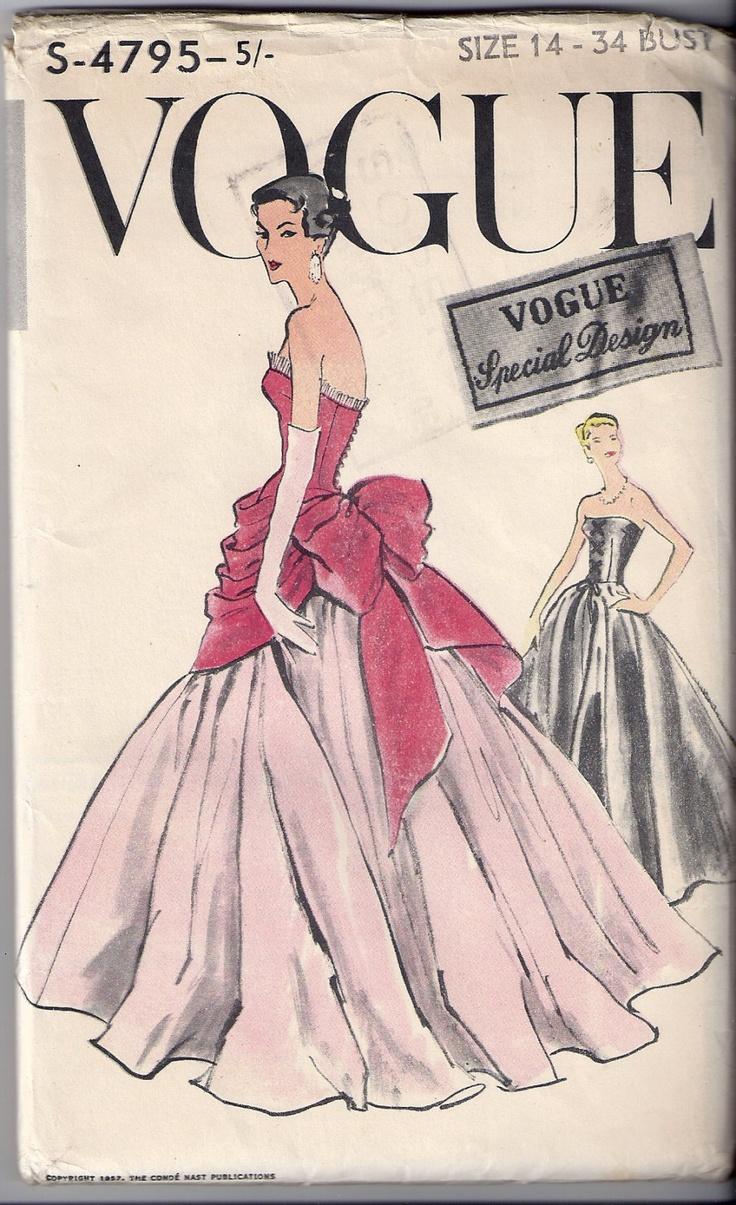 Vintage Vogue Dresses