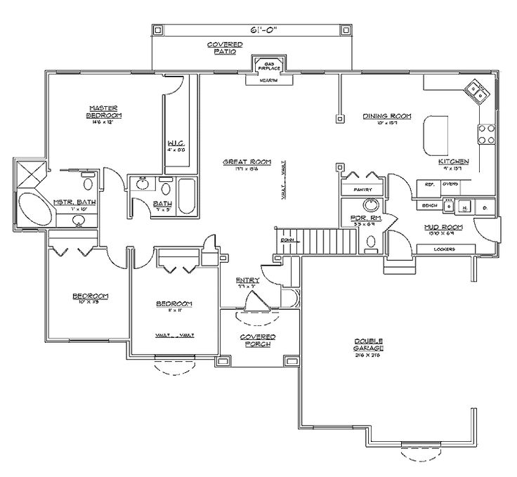 The 25 best rambler house plans ideas on pinterest for Rambler plans