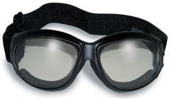 Foam Padded Photo-chromatic Motorrad-Schutzbrille / Clear – Smoke   – Survival