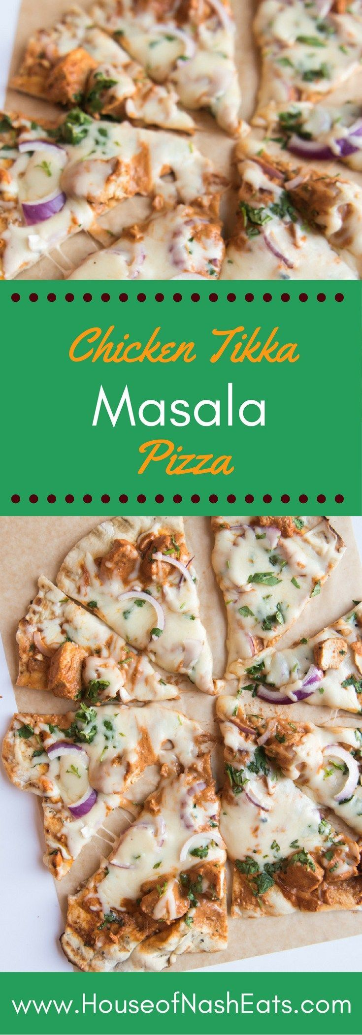 This Chicken Tikka Masala Pizza is a fusion of two takeout favorites. The rich…